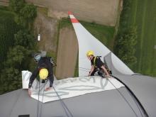 pvc klevers op windmolens